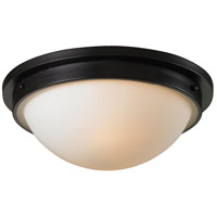 ELK Lighting Signature 2 Light Flush Mount in Oiled Bronze 11450/2