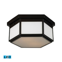 ELK Lighting Signature 2 Light Flush Mount in Oiled Bronze 11452/2-LED