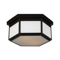 ELK 11452/2 Signature 2 Light 14 inch Oiled Bronze Flush Mount Ceiling Light