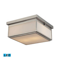 ELK Lighting Signature 2 Light Flush Mount in Brushed Nickel 11464/2-LED