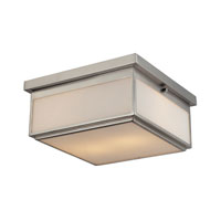 ELK Lighting Signature 2 Light Flush Mount in Brushed Nickel 11464/2