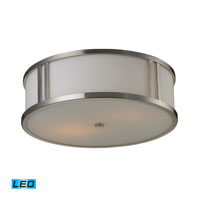 ELK Lighting Signature 2 Light Flush Mount in Brushed Nickel 11466/2-LED