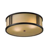 ELK Lighting Signature 2 Light Flush Mount in Aged Bronze 11476/2