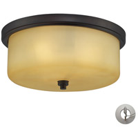 ELK Lighting Signature 3 Light Flush Mount in Aged Bronze 11478/3-LA