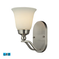 ELK Lighting Sullivan 1 Light Wall Sconce in Brushed Nickel 11500/1-LED