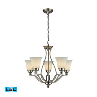 ELK Lighting Sullivan 5 Light Chandelier in Brushed Nickel 11503/5-LED