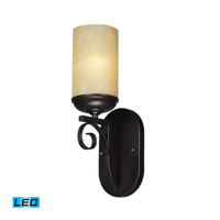 ELK Lighting Avondale 1 Light Wall Sconce in Aged Bronze 11510/1-LED