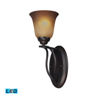 ELK Lighting Malaga 1 Light Wall Sconce in Aged Bronze 11530/1-LED photo thumbnail