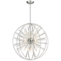 Twilight 15 Light 32 inch Polished Chrome Pendant Ceiling Light