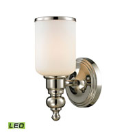 ELK Lighting Bristol LED Bath Bar in Polished Nickel 11570/1-LED
