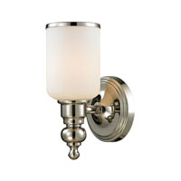 ELK Lighting Bristol 1 Light Bath Bar in Polished Nickel 11570/1