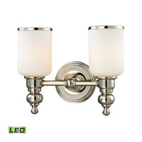 ELK Lighting Bristol LED Bath Bar in Polished Nickel 11571/2-LED