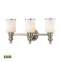 ELK Lighting Bristol LED Bath Bar in Polished Nickel 11572/3-LED