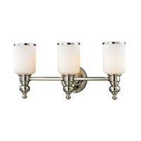 ELK Lighting Bristol 3 Light Bath Bar in Polished Nickel 11572/3