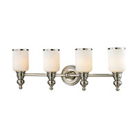 ELK Lighting Bristol 4 Light Bath Bar in Polished Nickel 11573/4