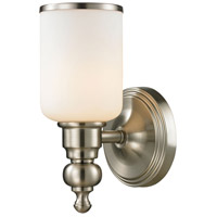 ELK Lighting Bristol 1 Light Bath Bar in Brushed Nickel 11580/1