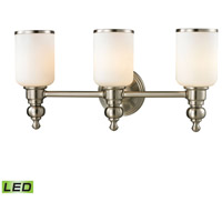 ELK 11582/3-LED Bristol LED 21 inch Brushed Nickel Vanity Light Wall Light