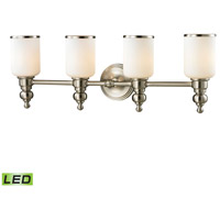 ELK Lighting Bristol LED Bath Bar in Brushed Nickel 11583/4-LED