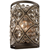 Amherst 1 Light 6 inch Antique Bronze Vanity Wall Light