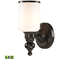 ELK 11590/1-LED Bristol LED 6 inch Oil Rubbed Bronze Vanity Light Wall Light