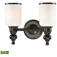 ELK 11591/2-LED Bristol LED 13 inch Oil Rubbed Bronze Vanity Light Wall Light
