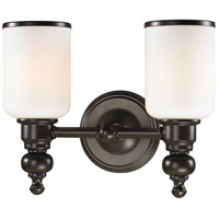 ELK Lighting Bristol 2 Light Bath Bar in Oil Rubbed Bronze 11591/2