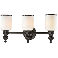 ELK Lighting Bristol 3 Light Bath Bar in Oil Rubbed Bronze 11592/3