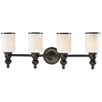 ELK 11593/4 Bristol Way 4 Light 29 inch Oil Rubbed Bronze Vanity Light Wall Light in Incandescent