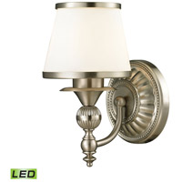 ELK 11600/1-LED Smithfield LED 8 inch Brushed Nickel Vanity Light Wall Light