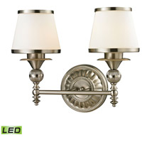 ELK 11601/2-LED Smithfield LED 16 inch Brushed Nickel Vanity Light Wall Light