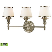 ELK 11602/3-LED Smithfield LED 25 inch Brushed Nickel Vanity Light Wall Light