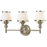 ELK Lighting Smithfield 3 Light Bath Bar in Brushed Nickel 11602/3