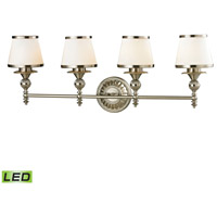 ELK Lighting Smithfield LED Bath Bar in Brushed Nickel 11603/4-LED