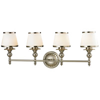 ELK 11603/4 Smithfield 4 Light 34 inch Brushed Nickel Vanity Light Wall Light in Incandescent