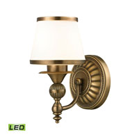 ELK Lighting Smithfield LED Bath Bar in Aged Brass 11610/1-LED