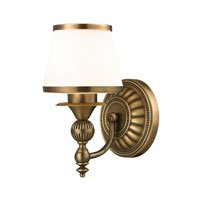 ELK Lighting Smithfield 1 Light Bath Bar in Aged Brass 11610/1