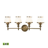 ELK Lighting Smithfield LED Bath Bar in Aged Brass 11613/4-LED