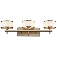 ELK 11617/3 Utica 3 Light 29 inch Satin Brass Vanity Light Wall Light