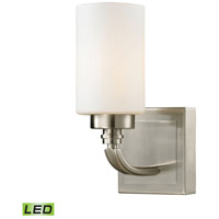 ELK 11660/1-LED Dawson LED 6 inch Brushed Nickel Vanity Light Wall Light
