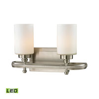 ELK Lighting Dawson LED Bath Bar in Brushed Nickel 11661/2-LED