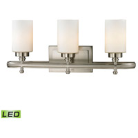 ELK Lighting Dawson LED Bath Bar in Brushed Nickel 11662/3-LED