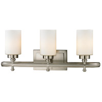 ELK Lighting Dawson 3 Light Bath Bar in Brushed Nickel 11662/3