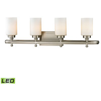 Dawson LED 31 inch Brushed Nickel Bath Bar Wall Light in 4