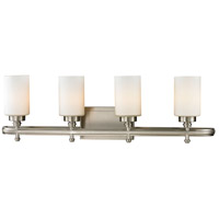 ELK 11663/4 Dawson 4 Light 31 inch Brushed Nickel Vanity Light Wall Light in Incandescent