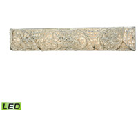 Andalusia LED 34 inch Aged Silver Vanity Wall Light