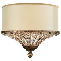 Crystal Spring 2 Light 11 inch Spanish Bronze Wall Sconce Wall Light