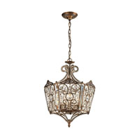 ELK 11721/8 Villegosa 8 Light 17 inch Spanish Bronze Pendant Ceiling Light