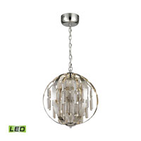 ELK Lighting Light Cylinders LED Pendant in Polished Chrome 11726/LED