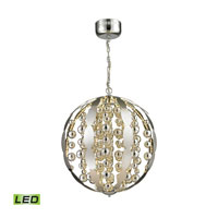 Light Spheres LED 23 inch Polished Chrome Pendant Ceiling Light