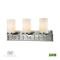ELK 11742/3-LED Campolina LED 24 inch Polished Chrome & Brushed Nickel Bath Bar Wall Light